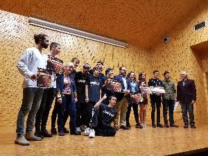 Foto entrega de premios Jóventes Talentos 2018