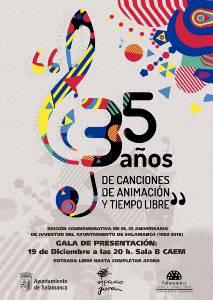 Cartel Musical Conmerativa del 35 aniversario de juventud